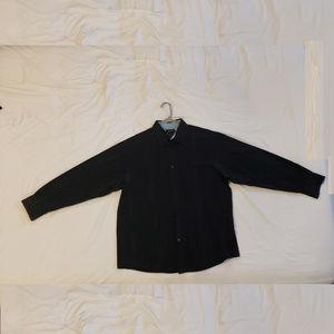 Axcess Button Up Long Sleeve Shirt Shooting Stars